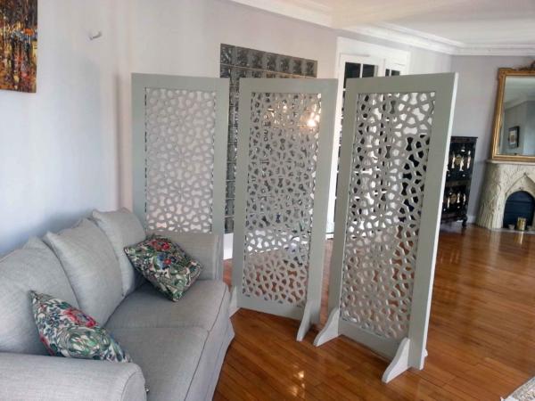 le moucharabieh fait son retour dans la d coration int rieur. Black Bedroom Furniture Sets. Home Design Ideas