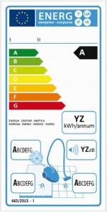 Consommation energetique aspirateur