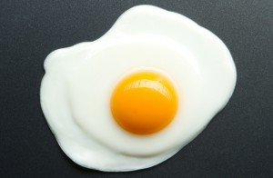 omelette ou œuf sur le plat