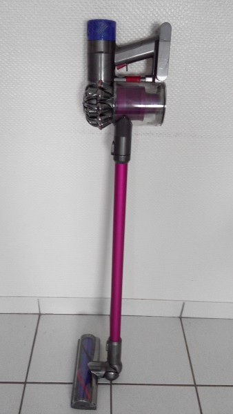 test aspirateur dyson v6 ABSOLUTE +