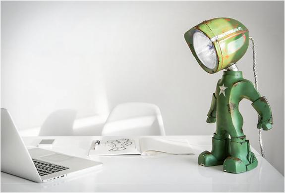 lampe de bureau design et originale Lampster