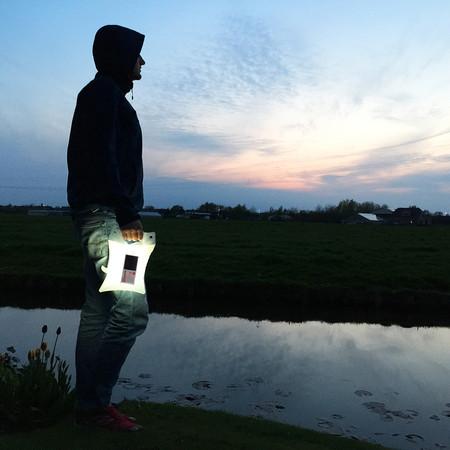 lampe solaire portable pour la pêche