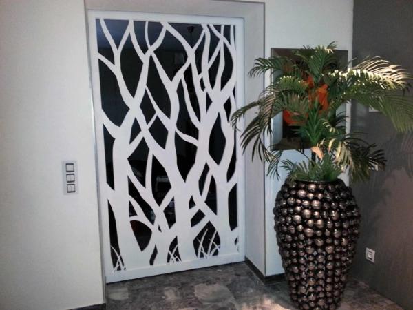 porte intérieure ajourée originale