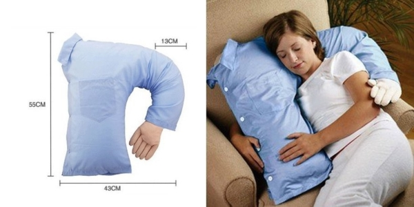 coussin corps d'homme