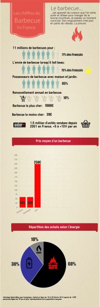 infographie chiffre marché barbecue france