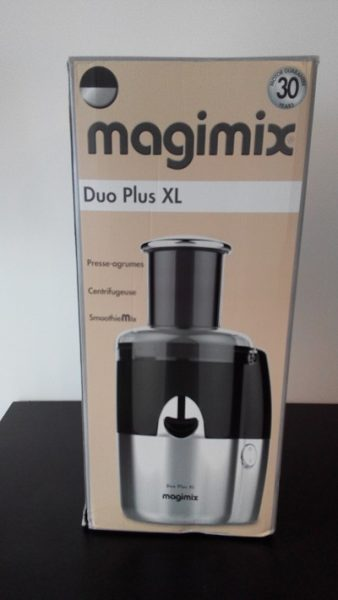 emballage centrifugeuse magimix duo plus xl