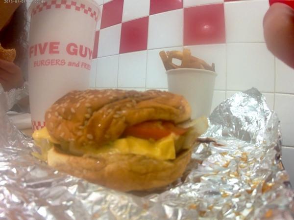 burger Five Guys