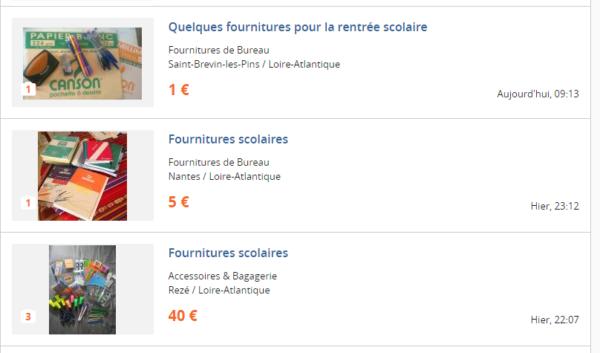 fournitures scolaires pas ch res ou gratuites o les trouver. Black Bedroom Furniture Sets. Home Design Ideas