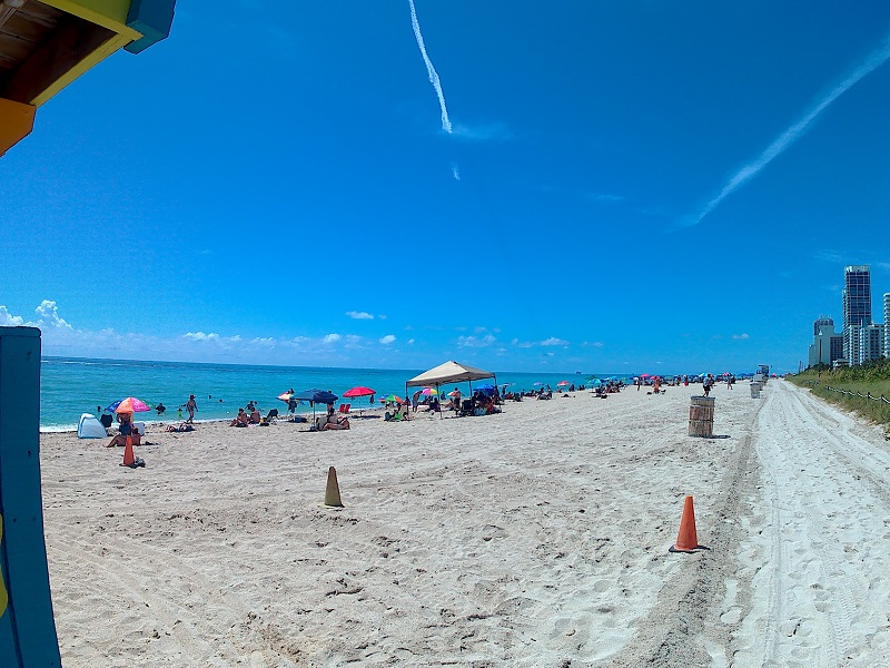 Plage miami North Beach