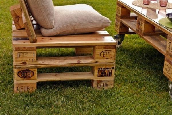 Mobilier fabriqu avec des palettes en bois meubles - Faire un banc avec des palettes ...