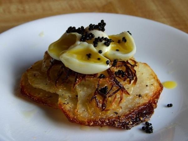 caviar cuisiné