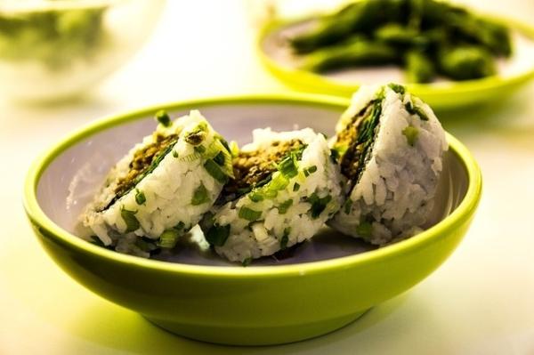 sushi vert