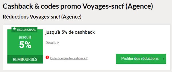 code promo SNCF