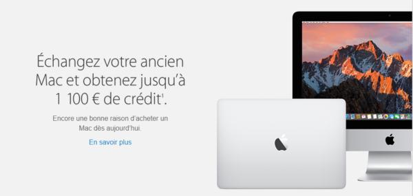 échanger apple