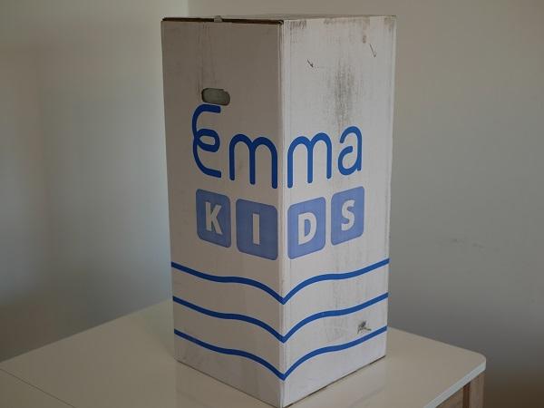 emballage matelas emma kids