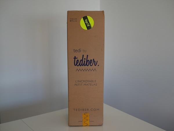 emballage matelas tediber