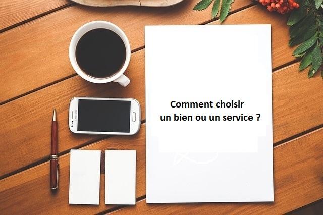 Choisir produit