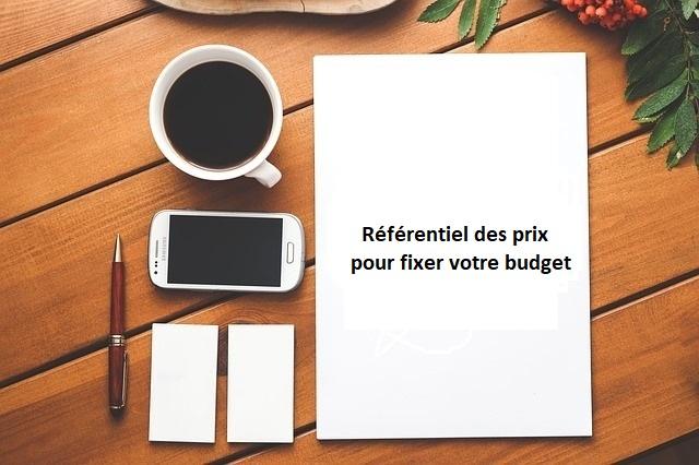 prix et budget