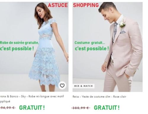Avoir des vêtements de marques de luxe gratuitement (sur Asos notamment) !