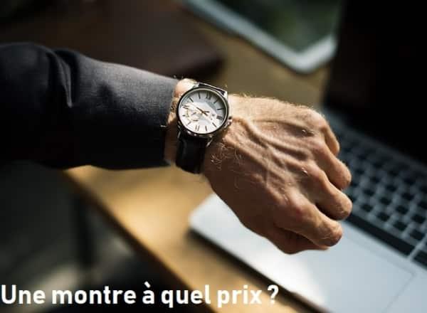 prix montre