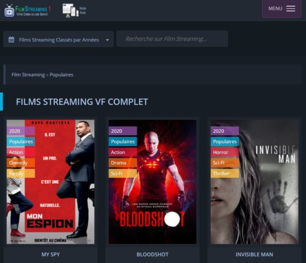 site streaming Film Streaming 1