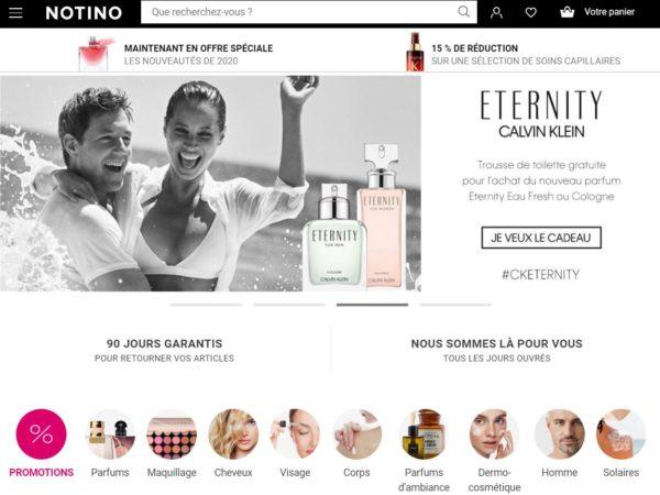parfumerie en ligne notino