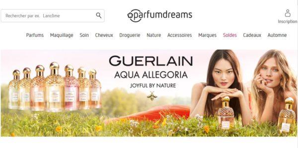 parfumerie en ligne parfumdreams