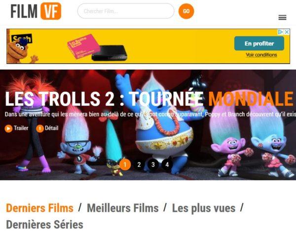 site streaming film vf