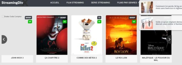 site streaming streaming div