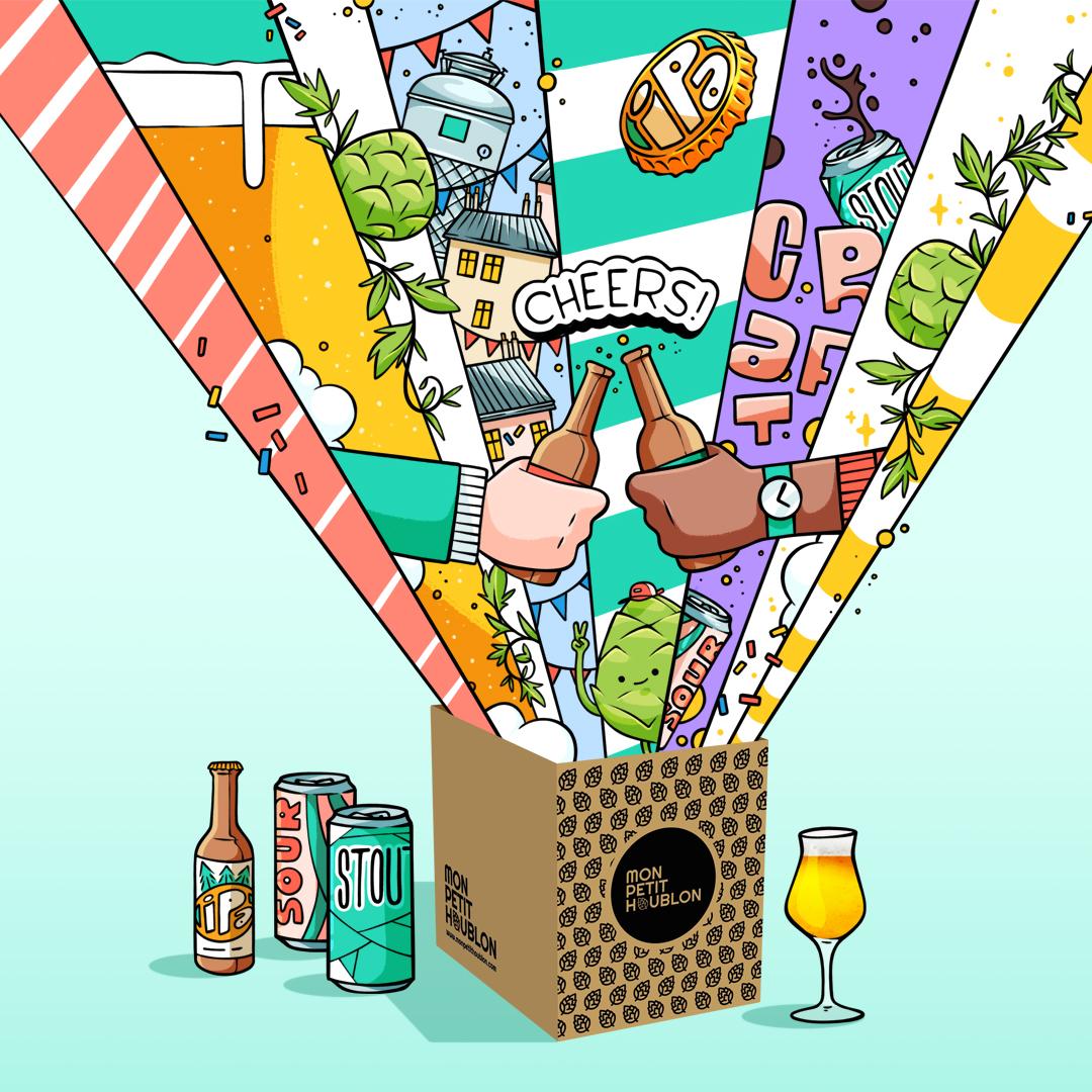 box bière craft box